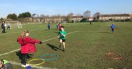 Sport Relief Golden Mile Challenge!